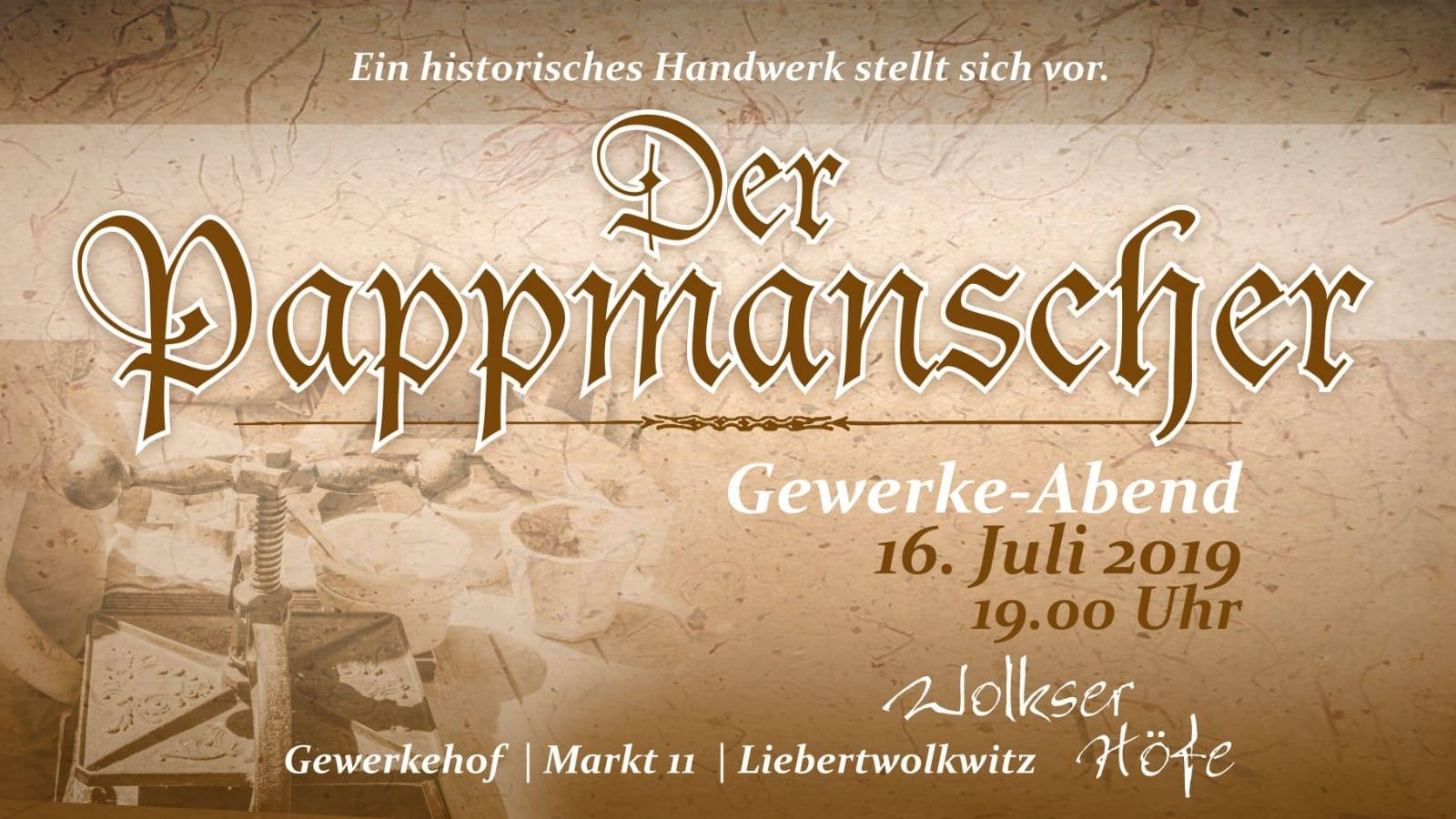 Wolkser Höfe 2019 - Liebertwolkwitz - Gewerke-Abend am 16.07.19 , Bild: Frank Bauer