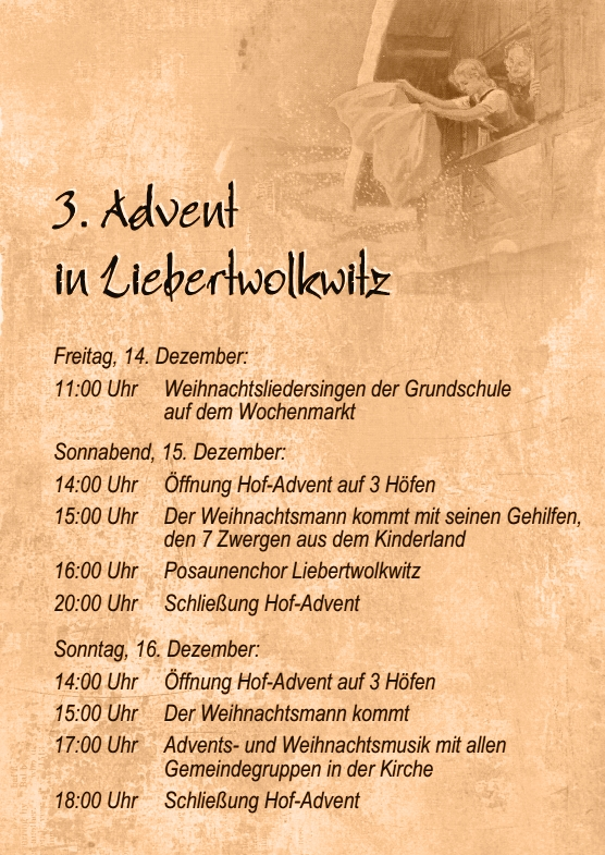 Wolkser Höfe 2018 - Hof-Advent 2018