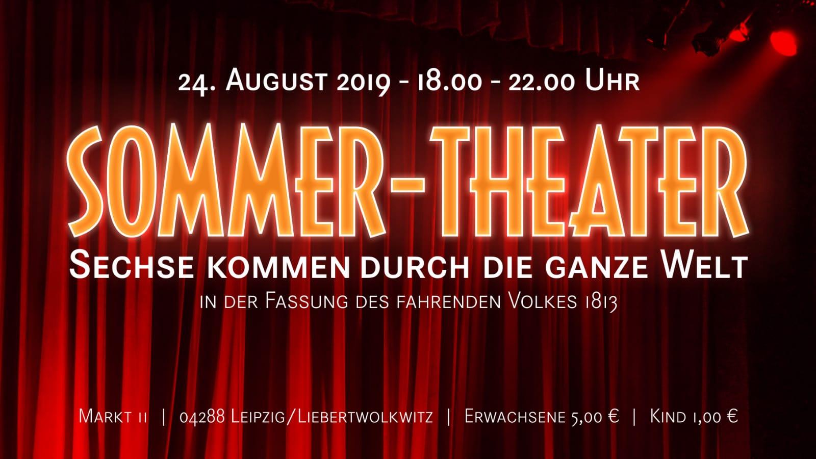 Wolkser Höfe 2019 - Liebertwolkwitz - Sommer-Theater 2019  , Bild: Frank Bauer