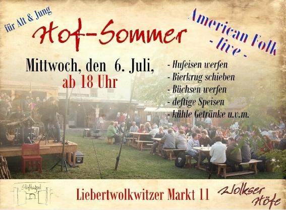 Hof-Sommer 2016 -  Liebertwolkwitz - (Bild: Lutz Zerling)