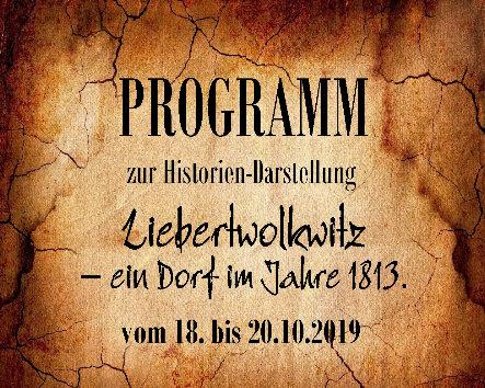 Wolkser Höfe 2019 - ausführliche Programmvorschau für Das Dorf 1813 - 2019!