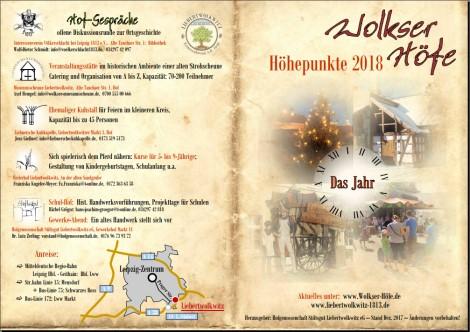 Wolkser Höfe 2018 -  Liebertwolkwitz -